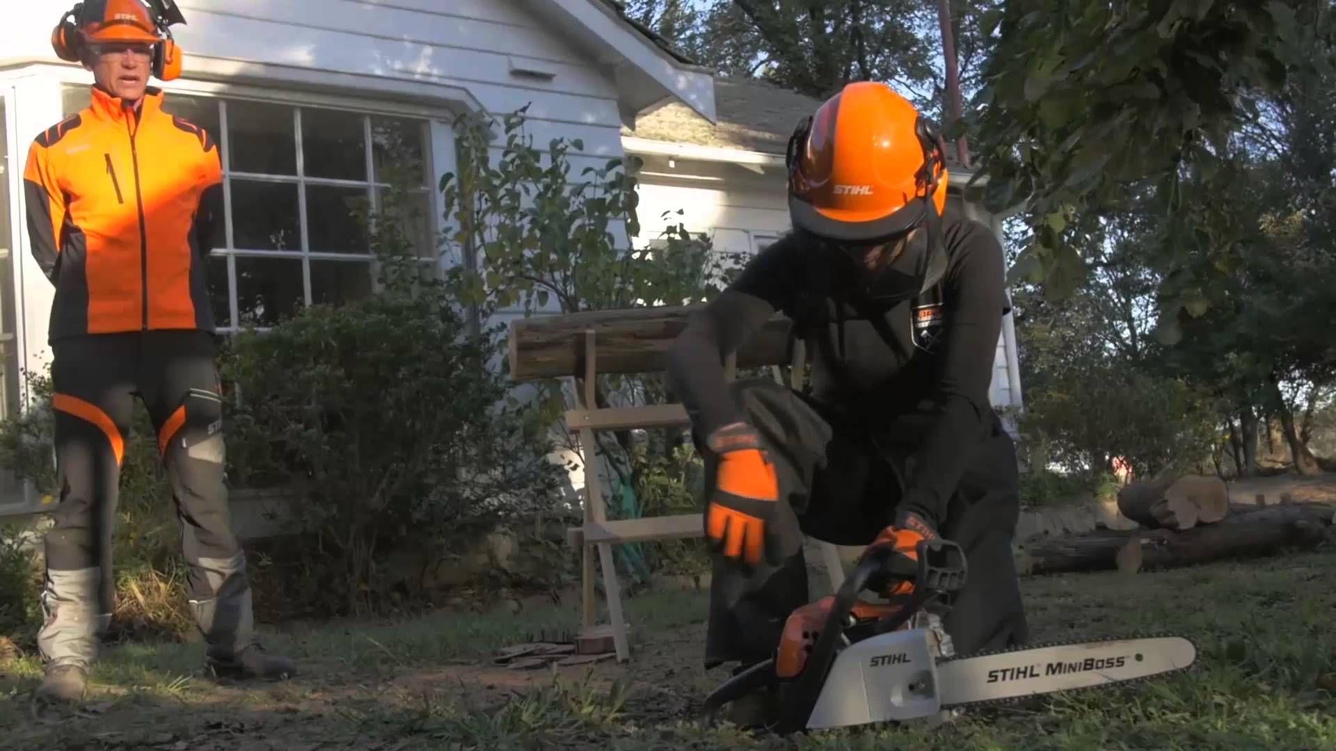 Chainsaw Safety Tips STIHL & Interlink Training Safety