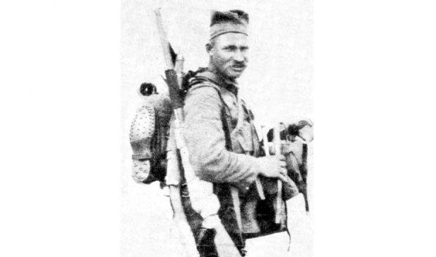 Srpski vojnik u Velikom ratu