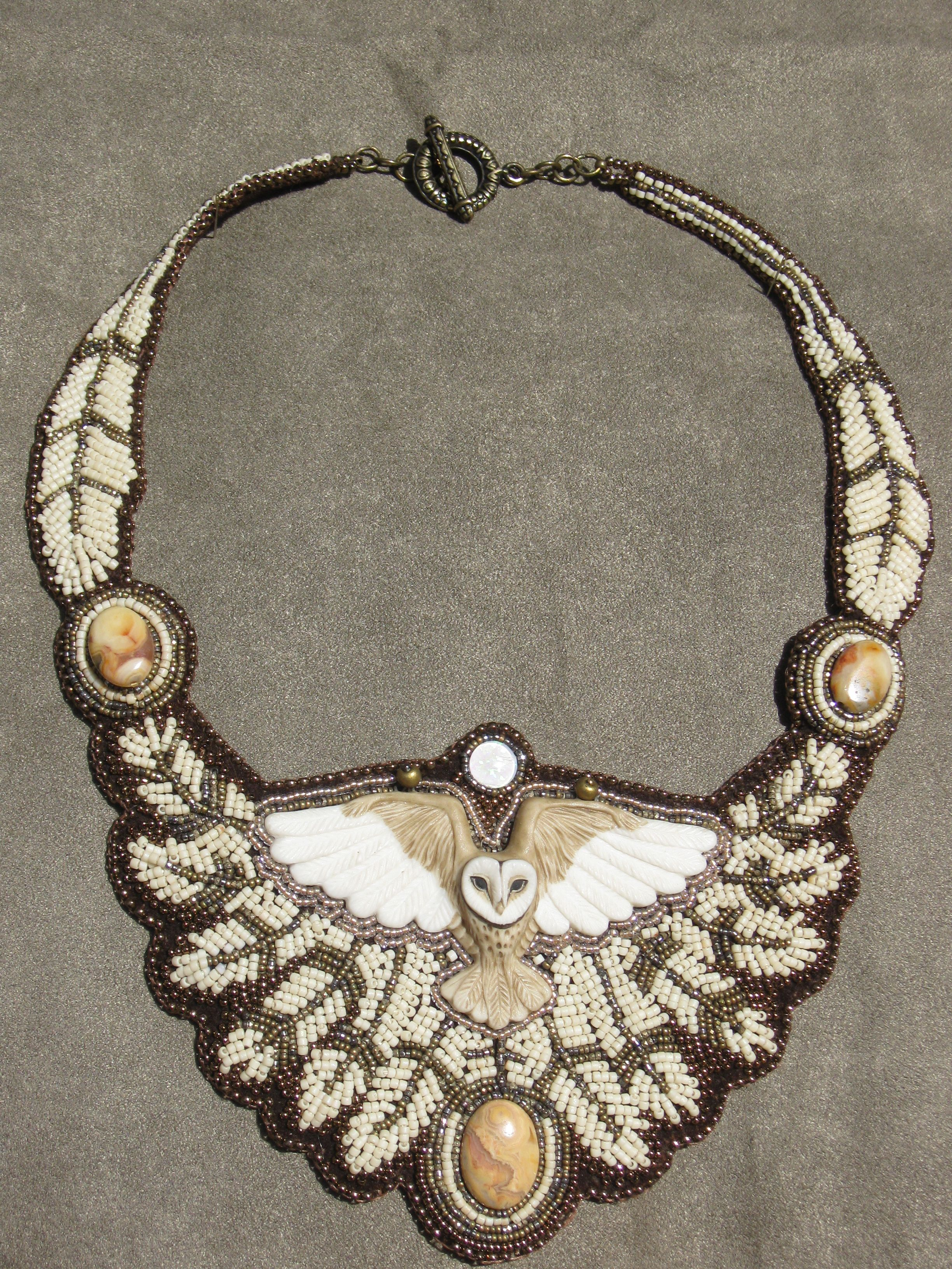 Owl bead embroidery bing images beads and baubles