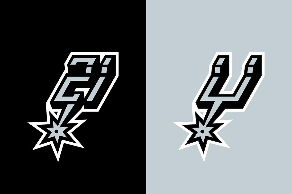 Tim Duncan Graphic On Behance Tim Duncan Spurs Fans Spurs Logo