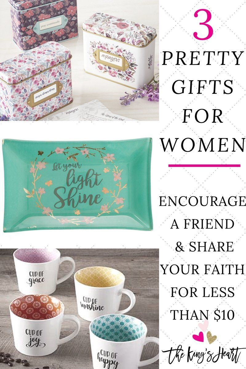 3 gifts for women encourage a friend share your faith