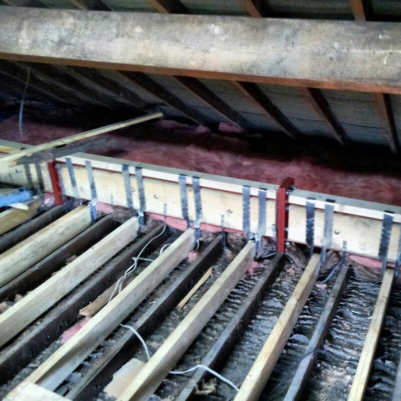 Floor Joists Tutorials Pinterest Lofts Attic And