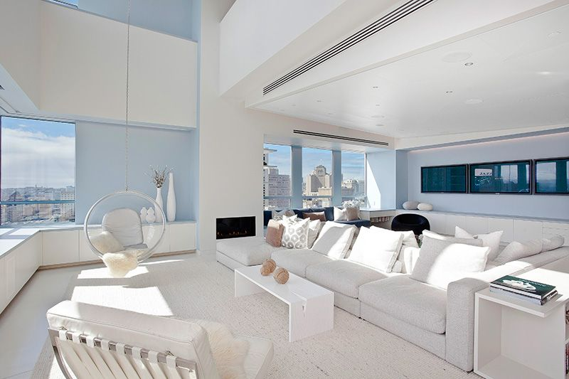 Stylish San Francisco Ritz Carlton Penthouse Could Be Yours for  8 Million   White InteriorsModern InteriorsDesign. Stylish San Francisco Ritz Carlton Penthouse Could Be Yours for  8