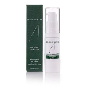 Amazon.com: DR. ALKAITIS Organic Eye Crème, 0.5 fl. oz.: Luxury Beauty