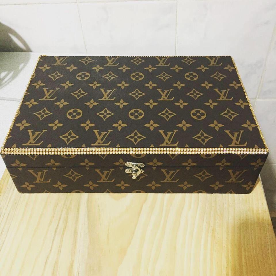 Lv jewelry box lv jewel box lv jewelry Lv jewel box Hand Made