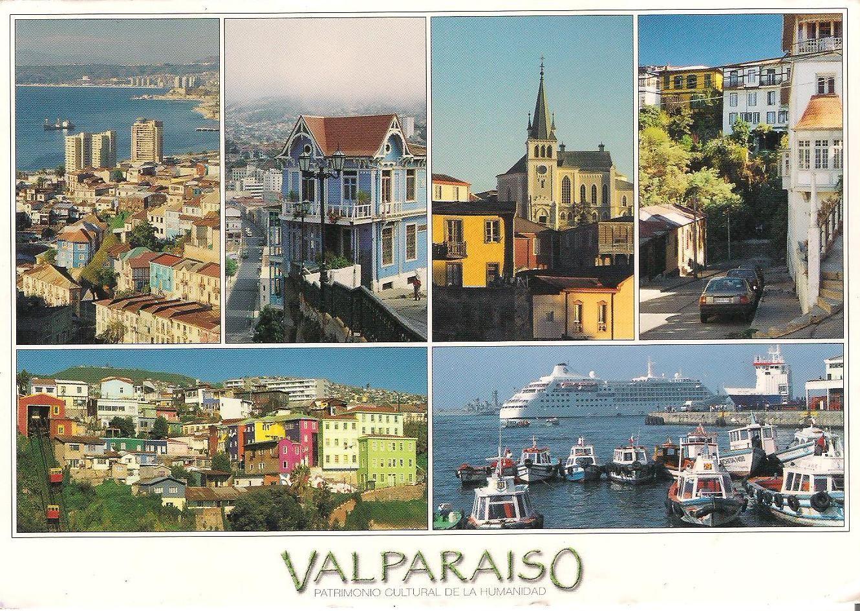 valparaiso post cards - Google Search