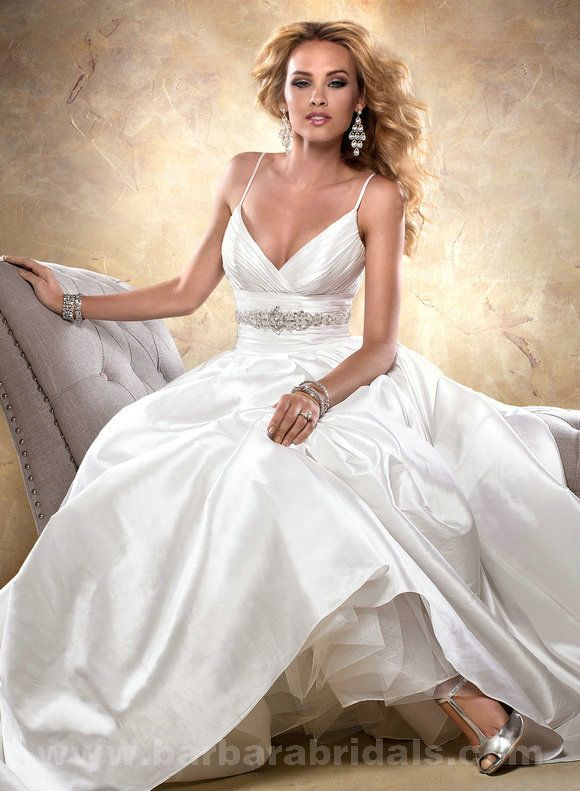 Price - $305.00 Maggie Sottero Stephanie 24933 Ball Gown dress Style-Stephanie for sale