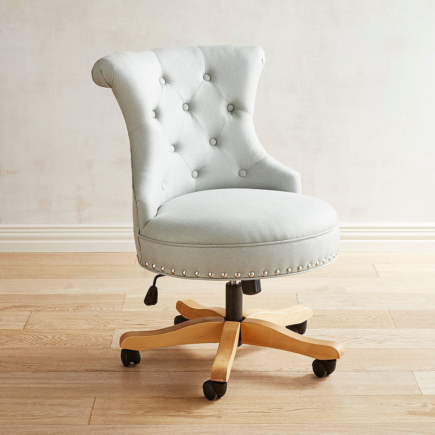 Hourglass Flax Swivel Office Chair Cheap office chairs