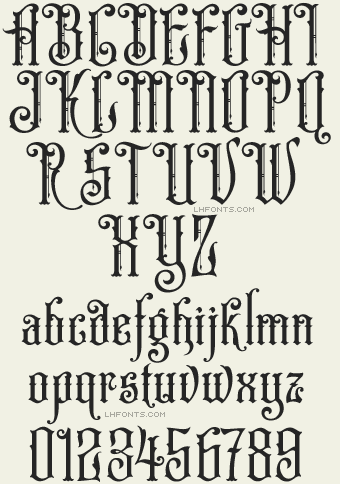 Lhf Hamilton Ornate Font Download Ttf
