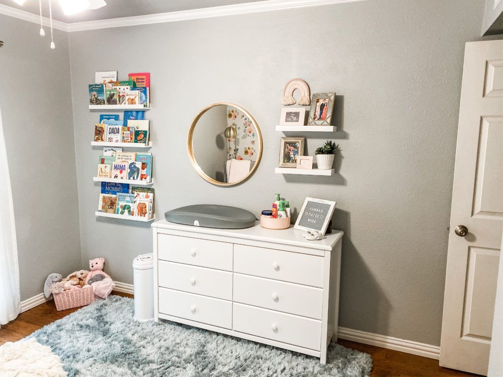 Sweet Baby Girl Nursery Project Nursery In 2020 Baby Girls Nursery Nursery Baby Room Girl Nursery