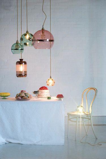 lamp 3 | hanglampen boven eettafel | luchtig speels | met een ...