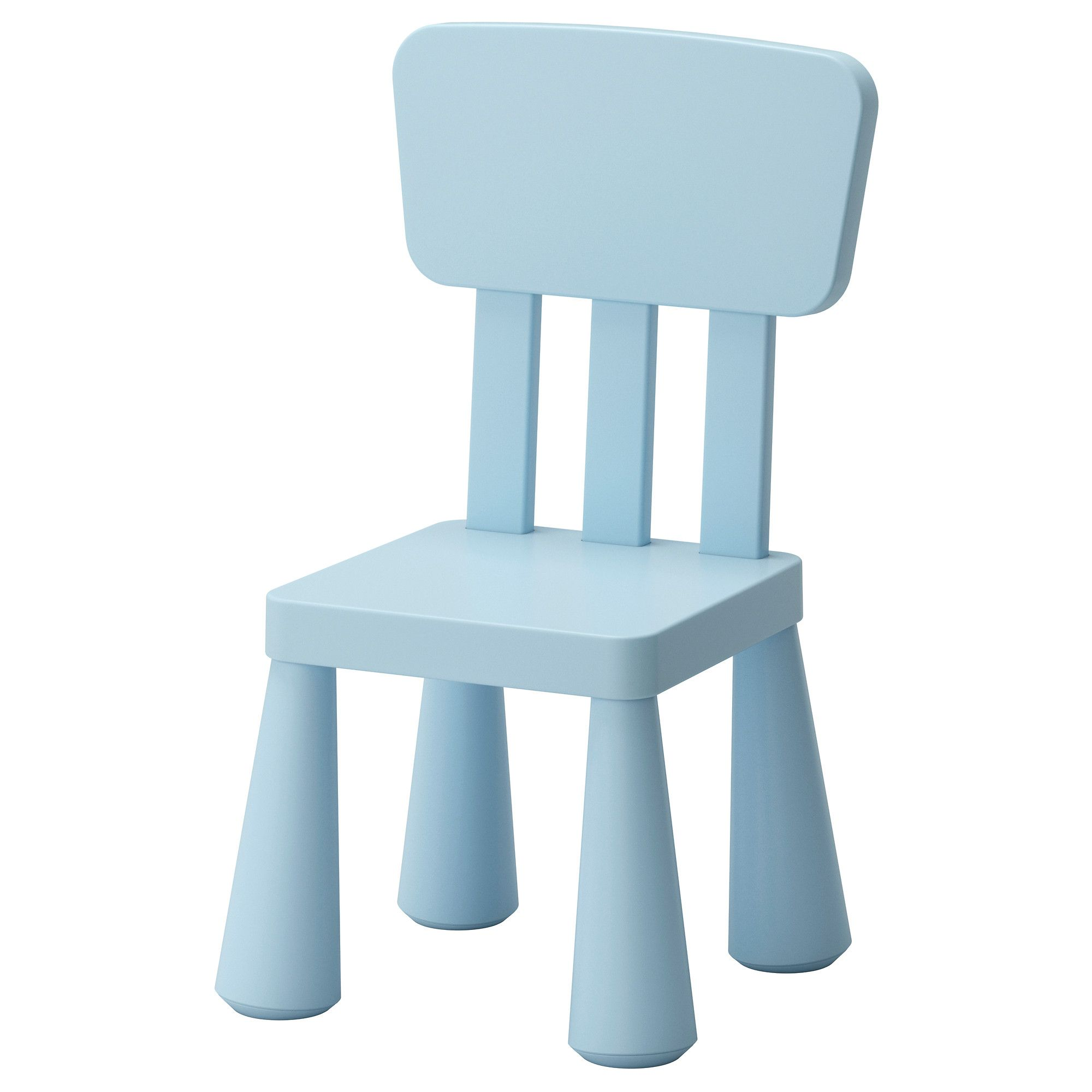 IKEA   MAMMUT, Childrenu0027s Chair, , , Made Of Plastic Which Makes It Easy