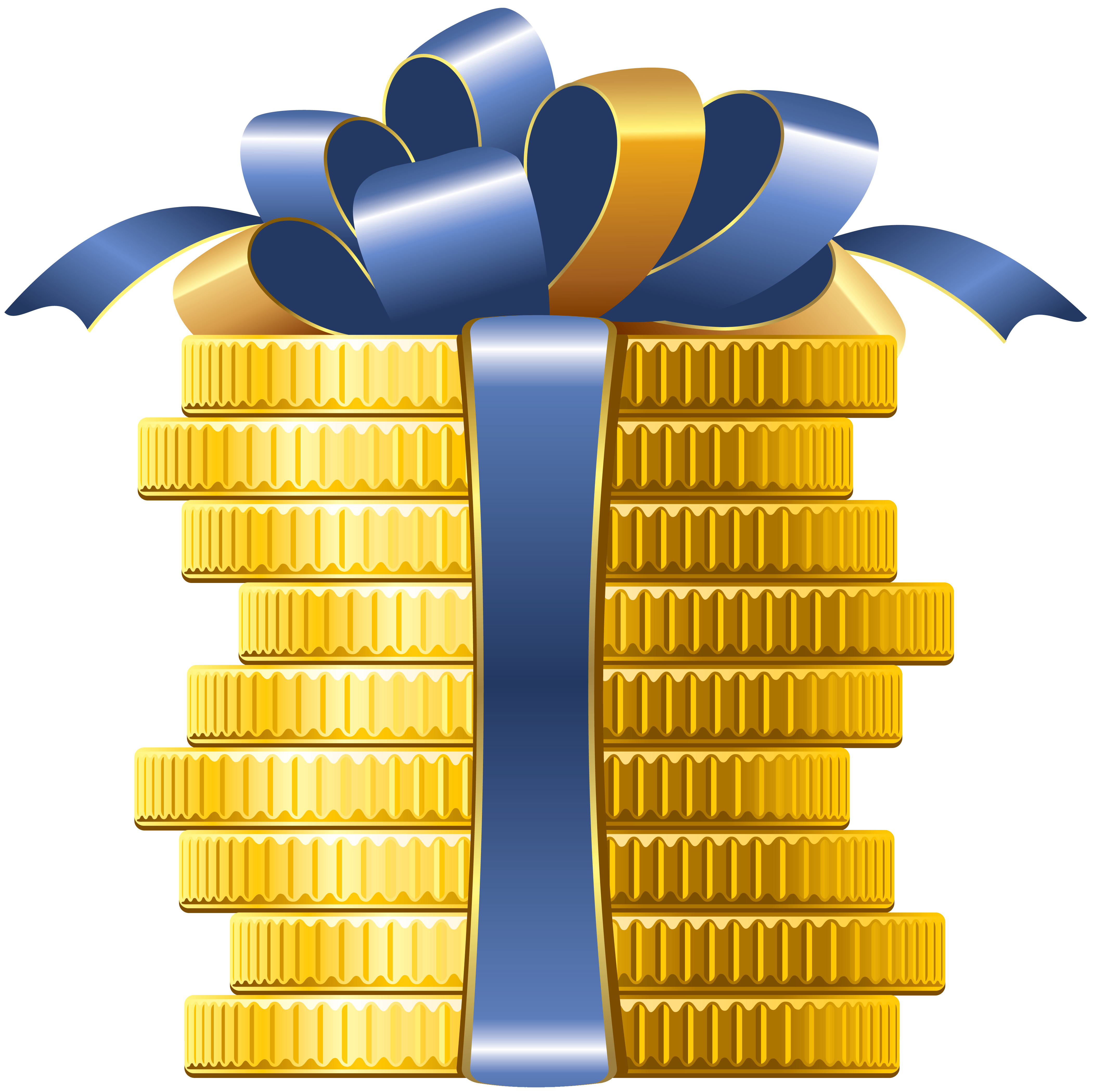 coins with bow png clipart gallery yopriceville high quality