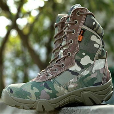 2016 Brand military tactical Delta Army Combat Boots outdoor travel hiking  shoes men's fall boots leather
