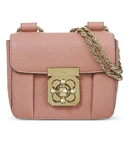 3cf7ab9d2d CHLOE Elsie mini chain bag (Cement pink | T&E Big Day❤ | Bags ...