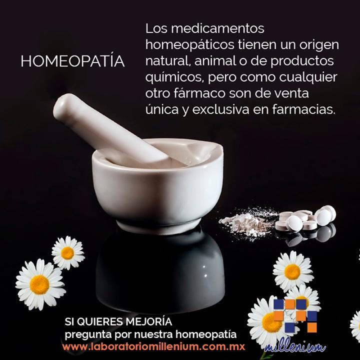 Recuerda que la homeopatía es una alternativa médica de origen natural.