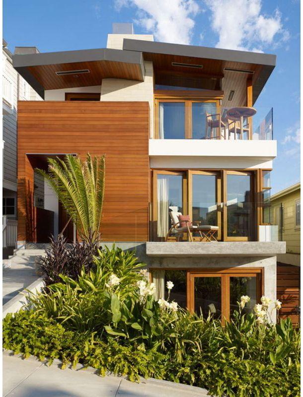 海外に建てられた どことなく日本的なモダン住宅 モダンハウスの