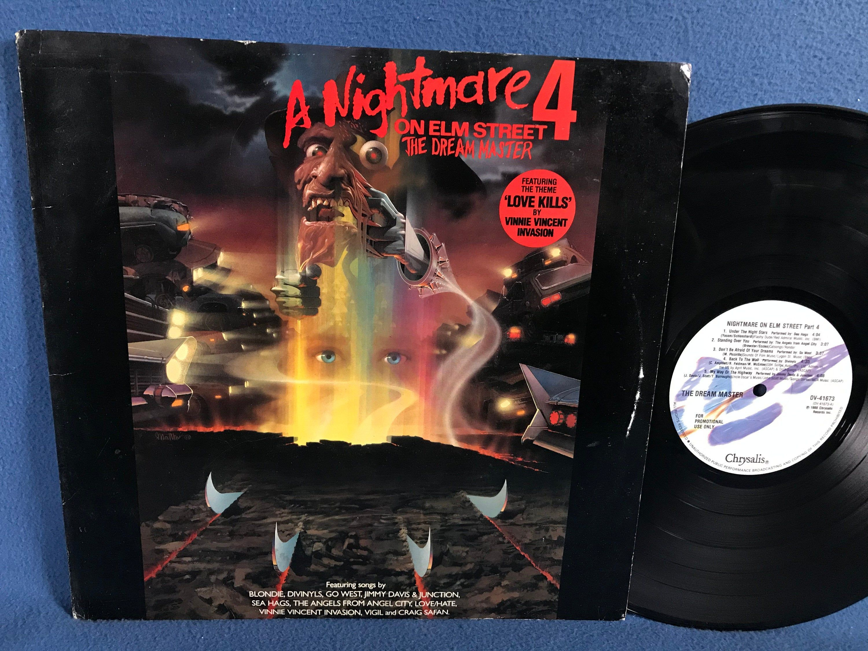 Rare Vintage A Nightmare On Elm Street 4 The Dream Master Original Soundtrack Vinyl Lp Rec In 2020 A Nightmare On Elm Street Nightmare On Elm Street Vinyl Sales