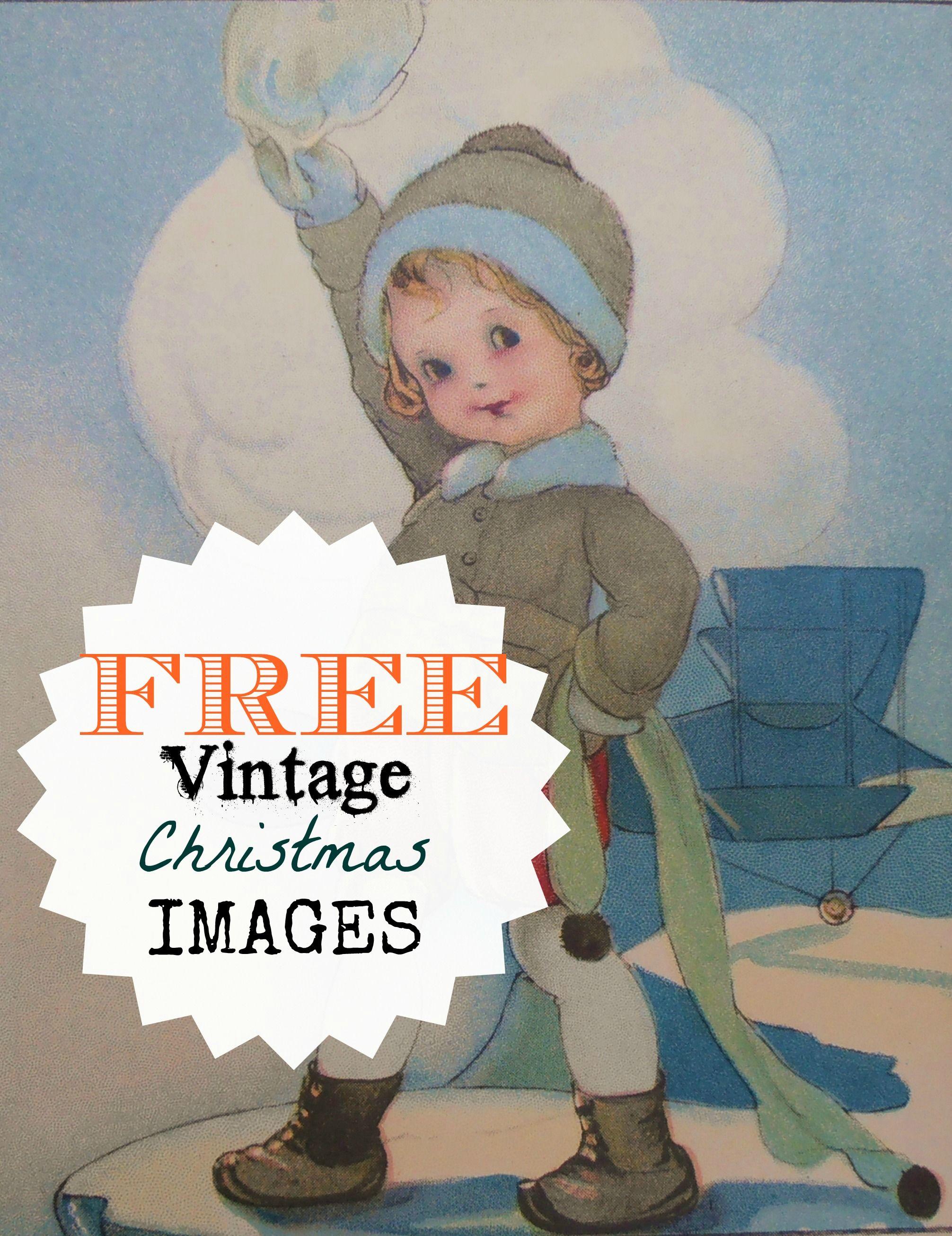 Free Vintage Christmas Images At Eatingalifenowspot