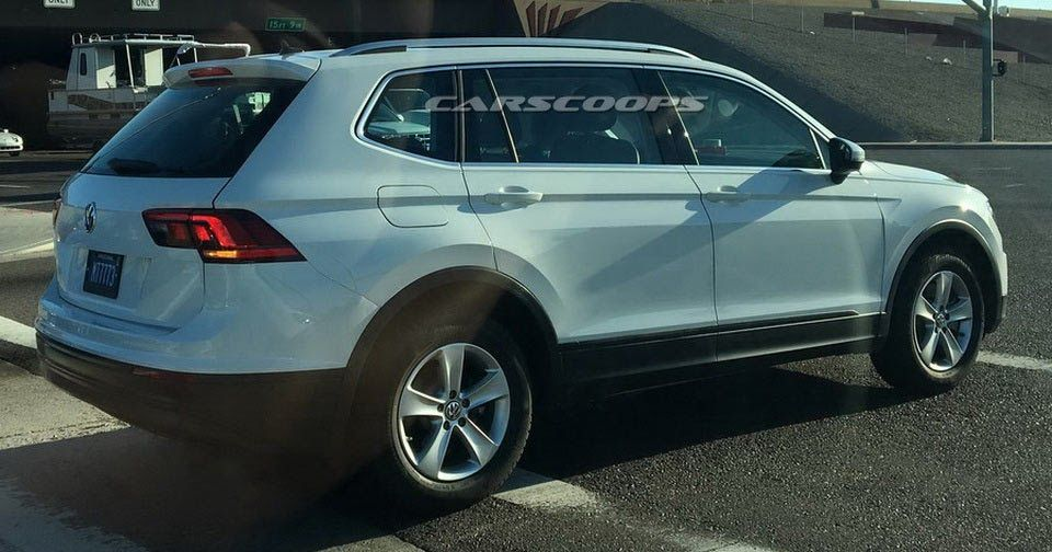 2017 Vw Tiguan Lwb Spotted By Reader In The Us Scoop