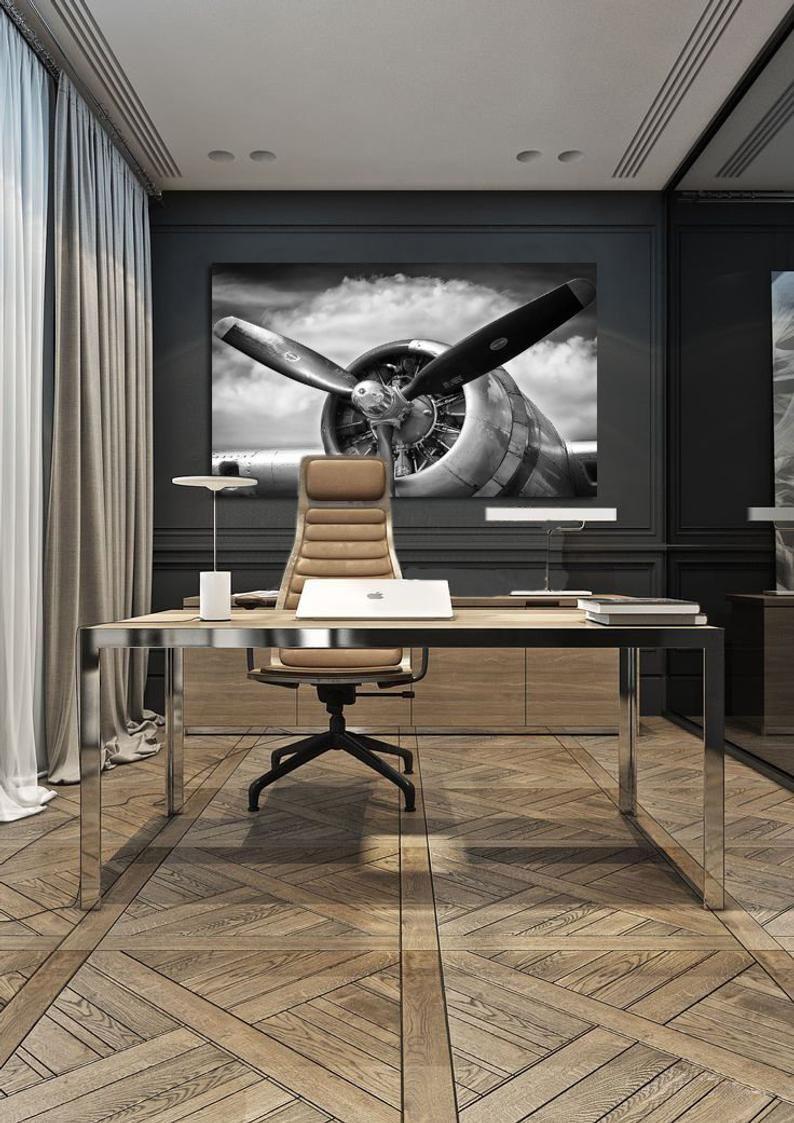 The Engine Room Design: Airplane Decor Airplane Prop Art Airplane Art Aviation Art