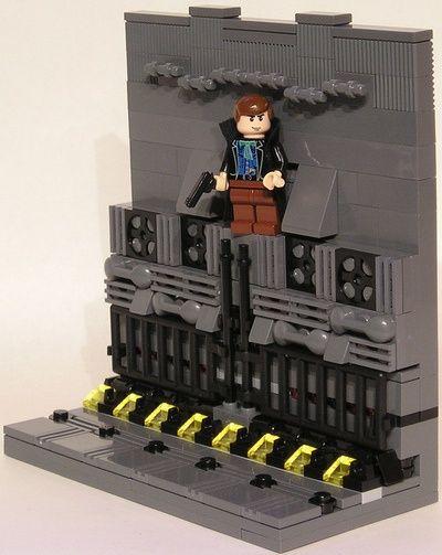 Blade Runner - LEGO scene   Moviegasm   Pinterest   Lego, Legos ...