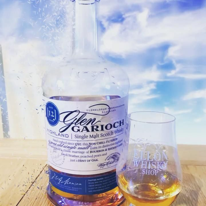 🥃Dram of the day🥃  Glen Garioch 12 Year Old  Glen Garioch 12 Bottling Note: Released in 2010, Glen Garioch's new 12 year old is matured in both bourbon and sherry casks, and it has loads of character, as well as being bottled at the sensible strength of 48%...  #distillery#whiskycocktail #logovideo #distillery #luxurytours #scotland #iskabirniephotography #trump  #glenturret #glenlivet #glengarioch #nationalwhiskyday #scotland #singlemaltwhisky #scotlandlove #stilltoursscotland #twinpeaks #sco