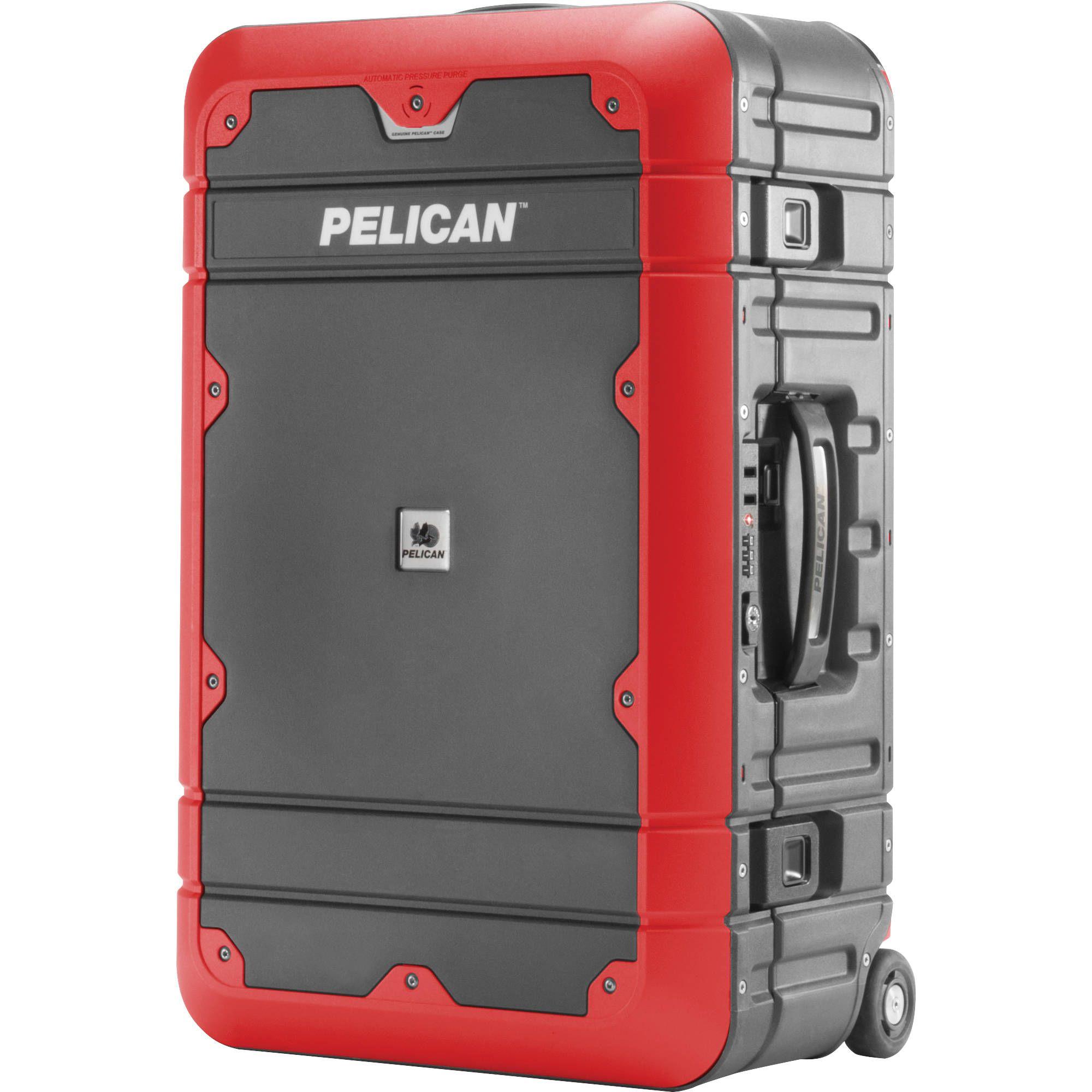 Pelican Ba22 Elite Carry On Luggage Lg Ba22 Gryred B H Photo Luggage Pelican Carry On Luggage
