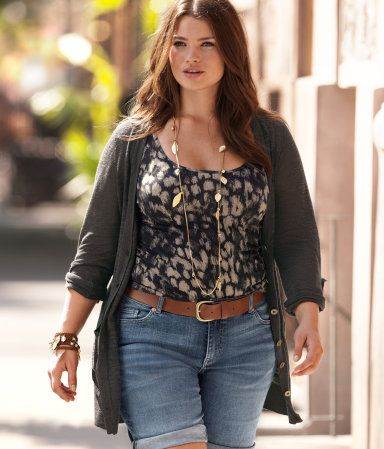 14c2215e8db9c nice trendy plus size outfit. PLUS MODEL TARA LYNN FOR H M SUMMER CHIC  CAMPAIGN    Stylish Curves