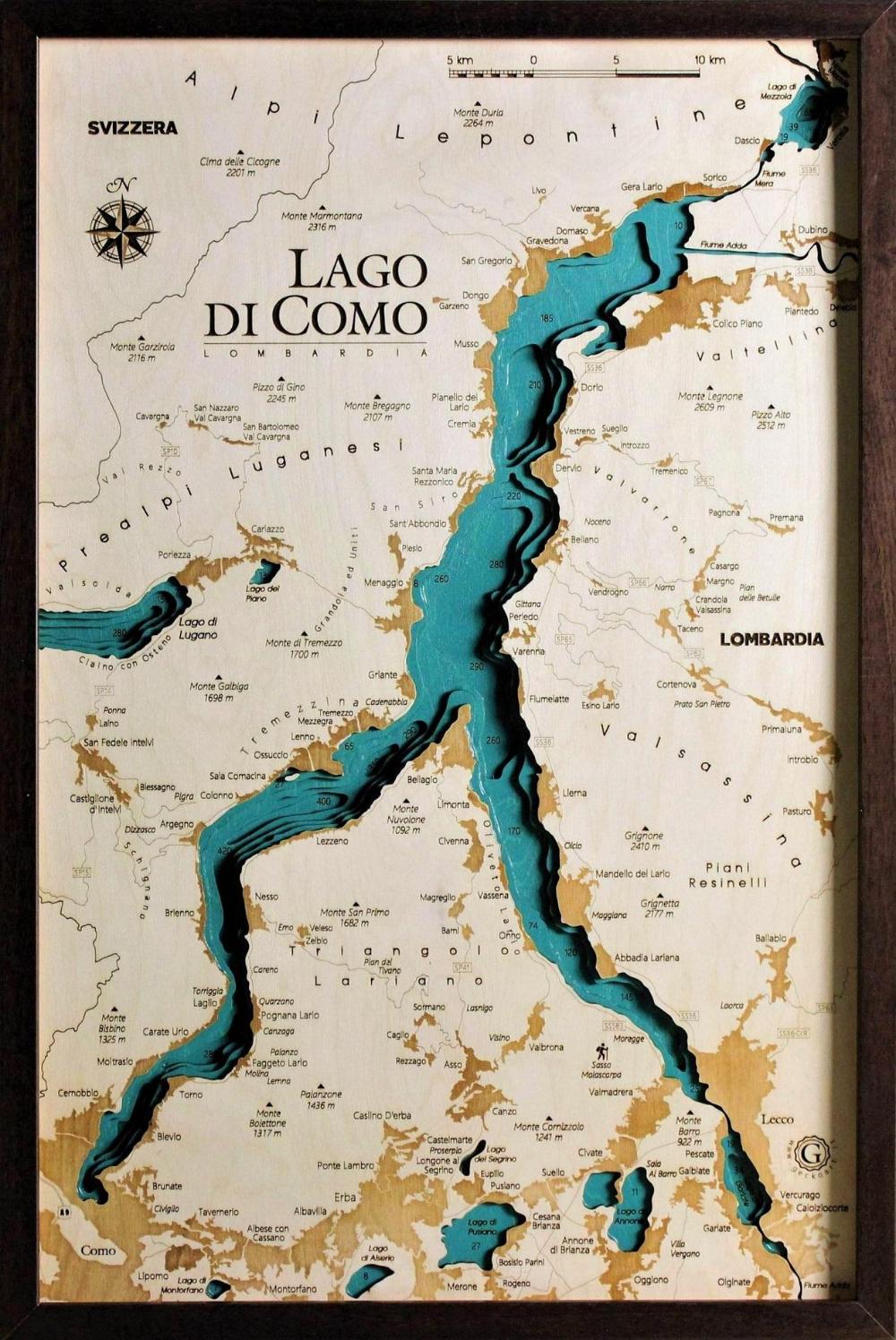 Cartina Lombardia Laghi.Pin Su Italia 4
