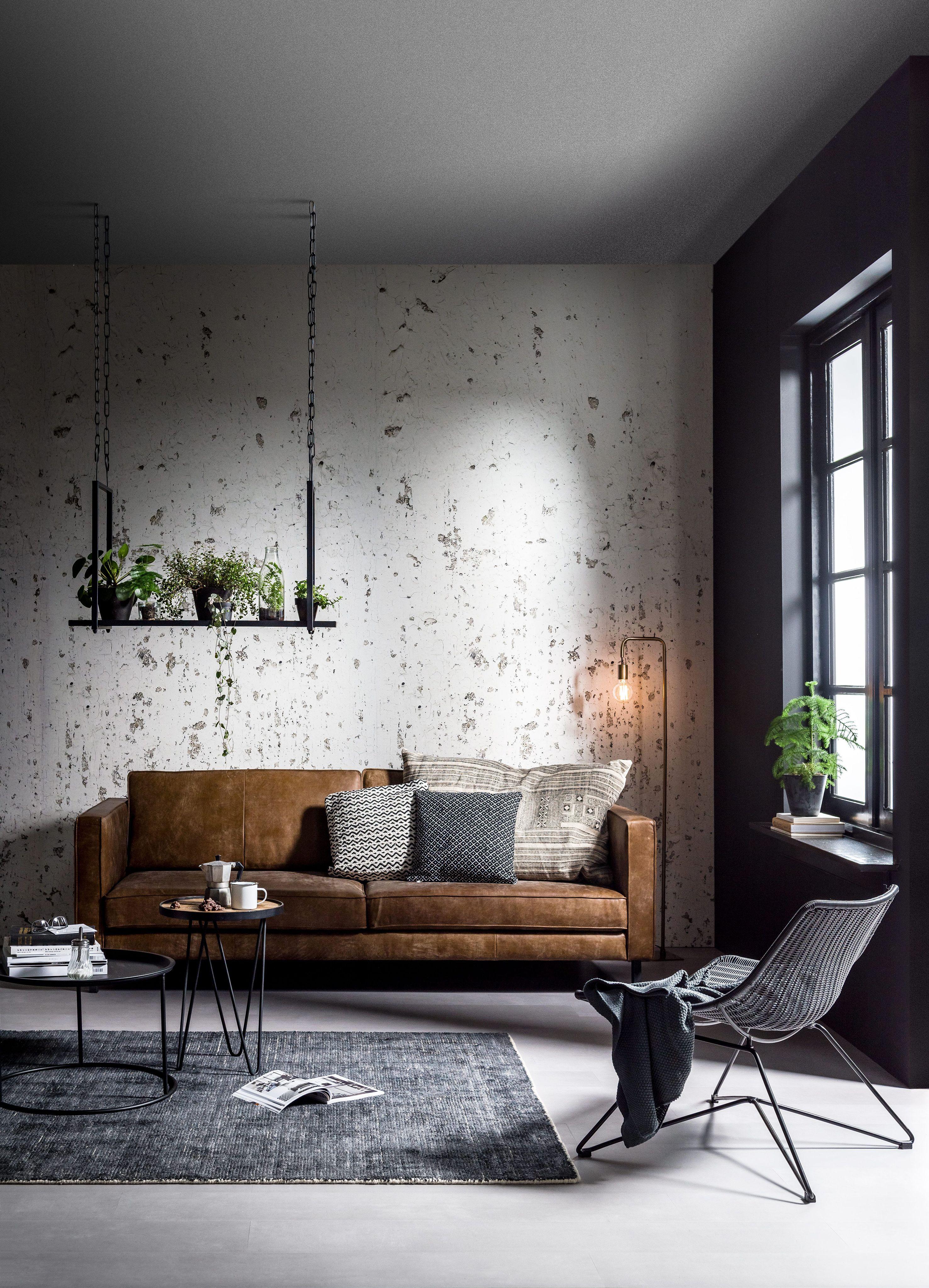 Interior 2018 | Industrial living room design, Industrial ...