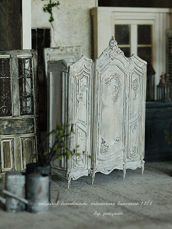 miniature* Brocnte な家具 2 : natural色の生活~handmade家具