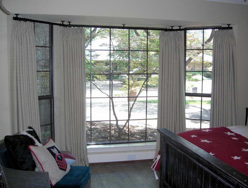 Portrait Of Ceiling Mount Curtain Rod Ideas Home