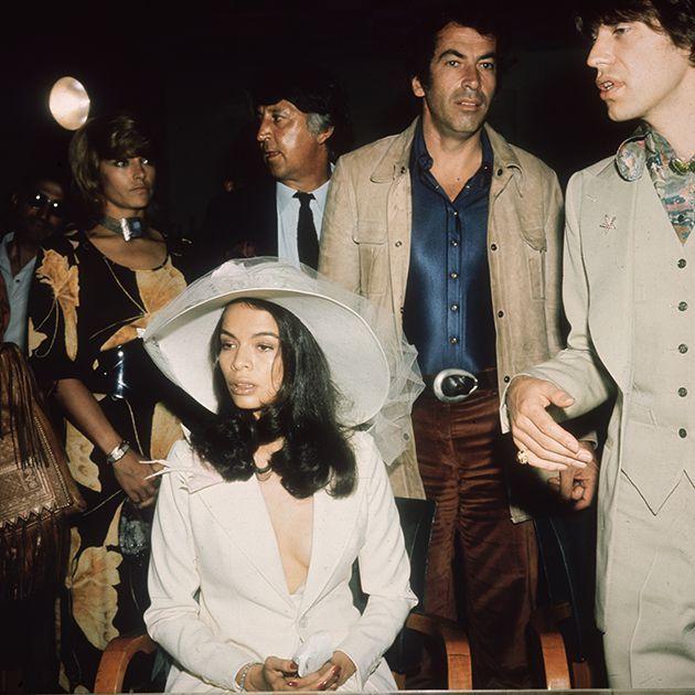 TBT: Mick and Bianca Jagger's Wedding Photos
