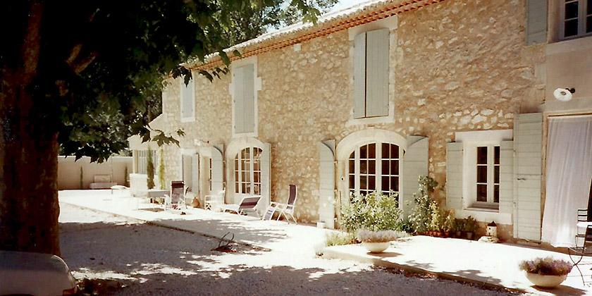Renovation De Mas Provencal En Pierre Extension Maison Mas Provencal Fermette