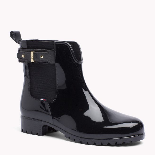 6770979d33f3e7 Tommy Hilfiger Oxley Ankle Boots - black dark shadow (Black) - Tommy  Hilfiger Boots - main image