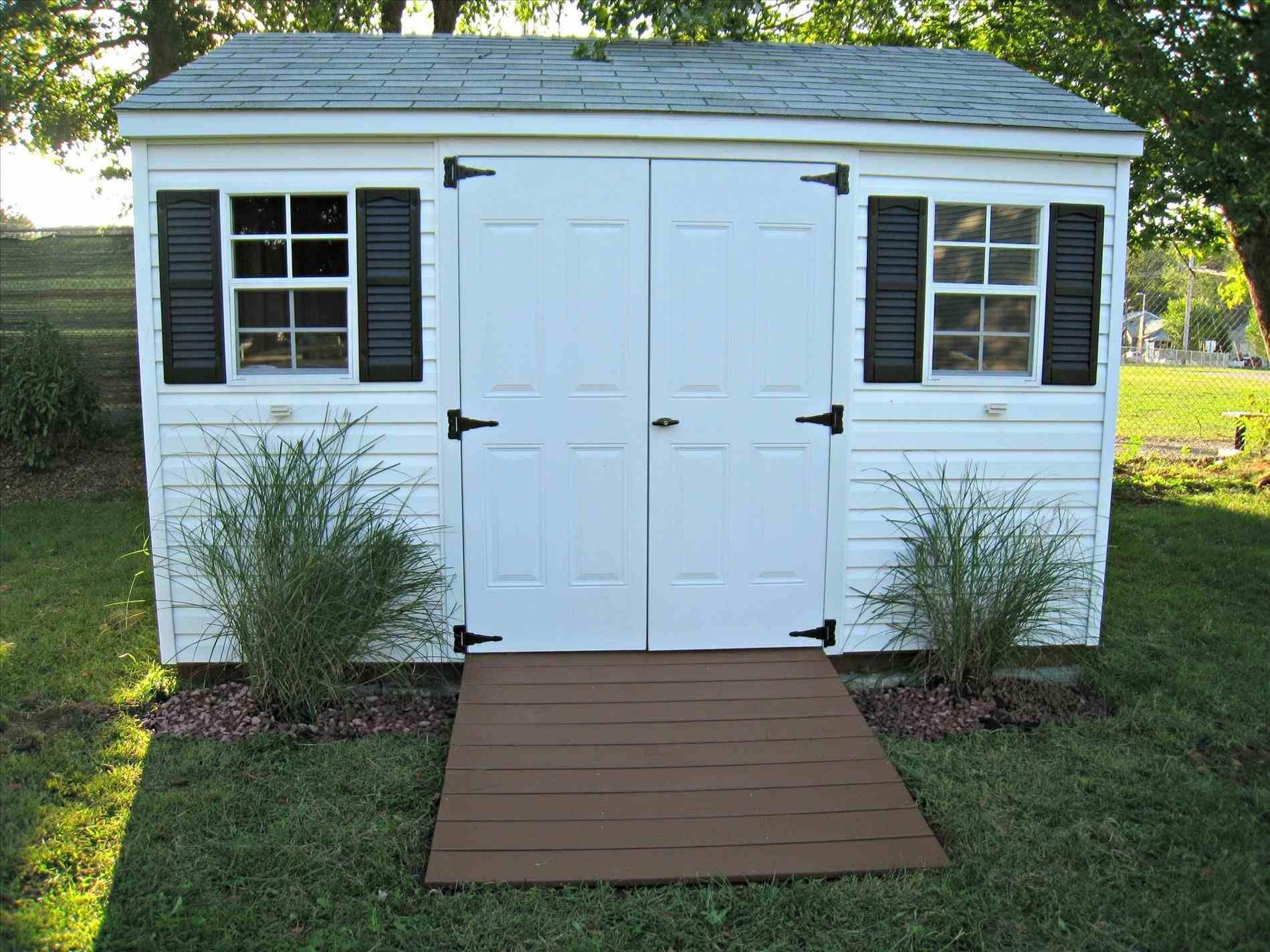 Shed Landscape Backyard | Shed landscaping, Storage shed ...