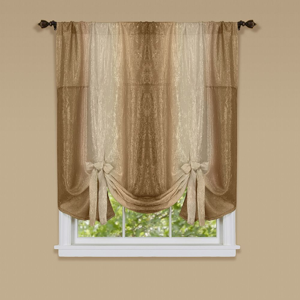 Ombre Tie Up Window Shade 50 X 63 Tie Up Shades Colorful Curtains Curtains
