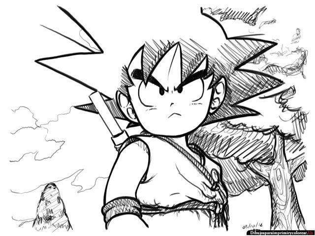 Dibujos de Dragon Ball para Imprimir y Colorear | Dragon Ball/Z ...