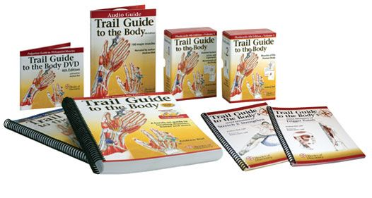 Trail Guide To The Body Palpatory Anatomy Musculoskeletal Text