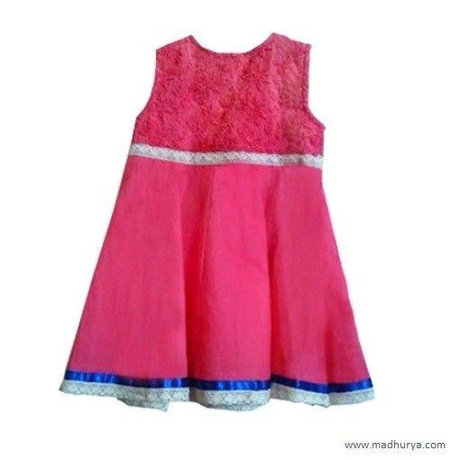 267fd4c09 Chikan Frock Kids Wear Buy Chikankari Dress Online at Best Prices In India  for girl Buy