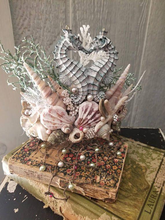 Mermaid Crown Tiara #crowntiara
