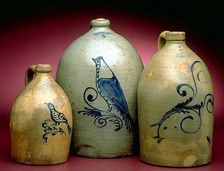 Canadian Salt Glazed Stoneware pottery