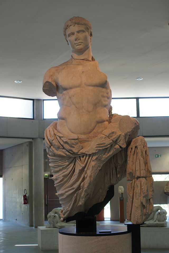 """Imperador Augustus"". # Arles, França."