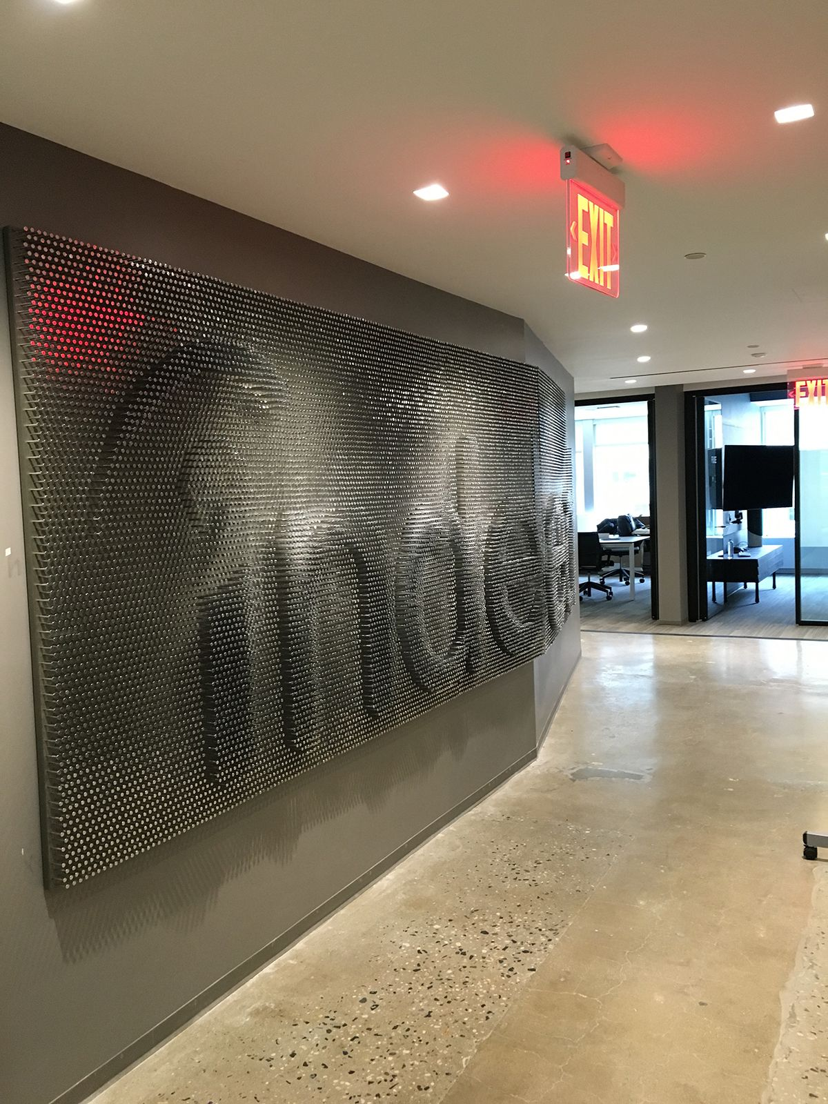 A Tour of Indeed's New NYC Office Office space