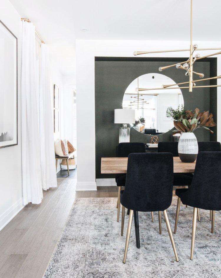 Cedarbreeze Leclair Decor Modern Dining Room Living Room With