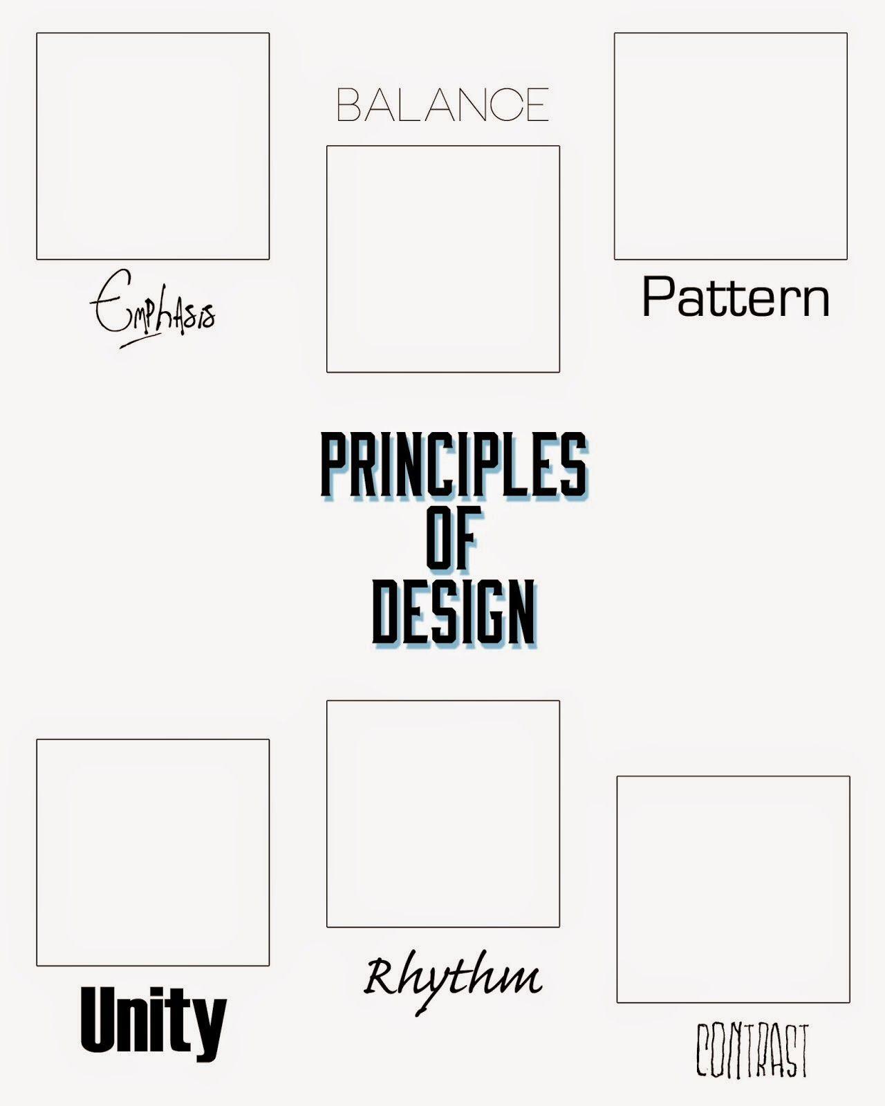 elements of design worksheet wiildcreative. Black Bedroom Furniture Sets. Home Design Ideas