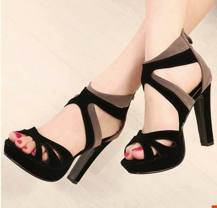 Girls high heels