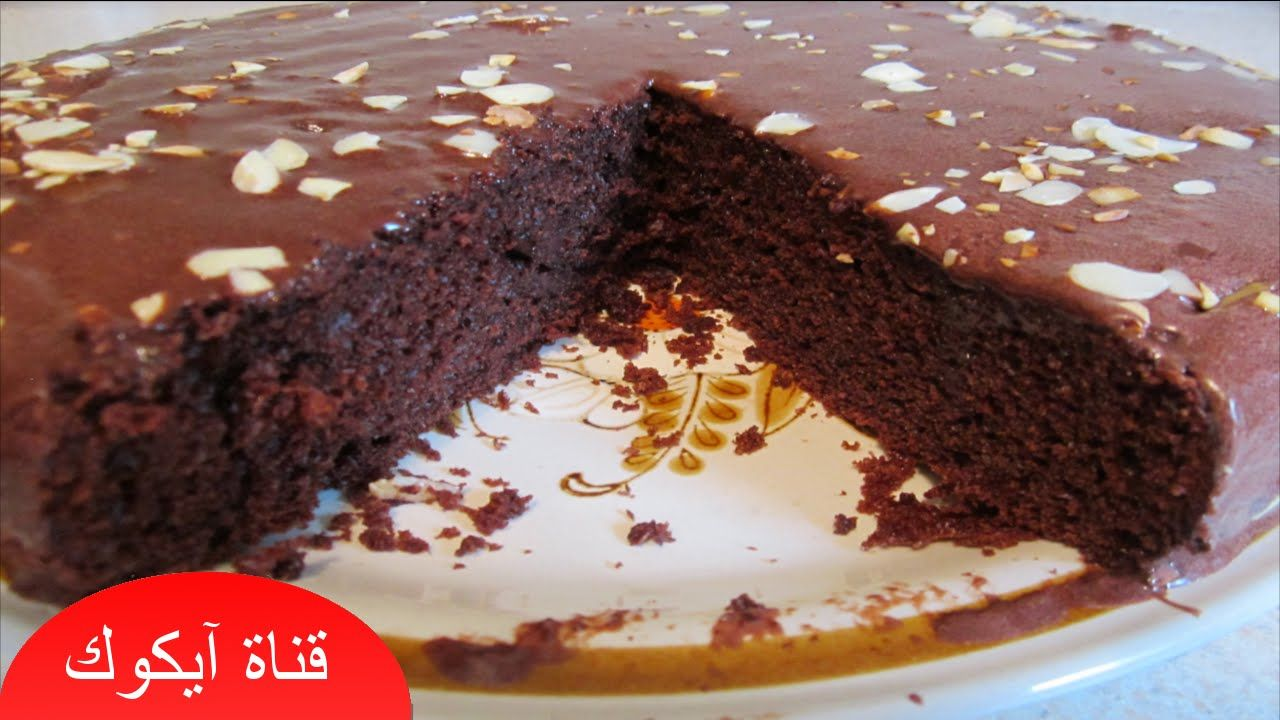كيكة الشوكولاته الاسفنجية سهلة وهشة 2016 Food Desserts Cake