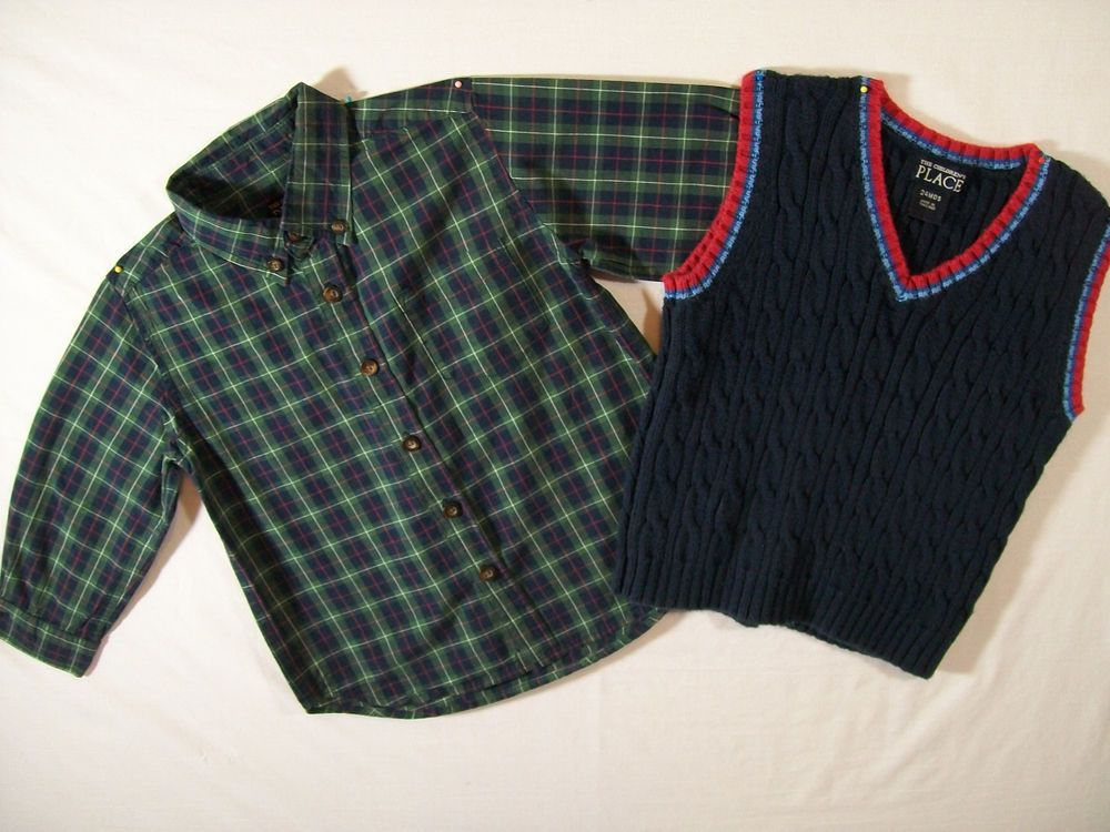 The Children's Place Baby Boy Size 24 Months Sets Fall Everyday Cotton Blend  #TheChildrensPlace #Everyday